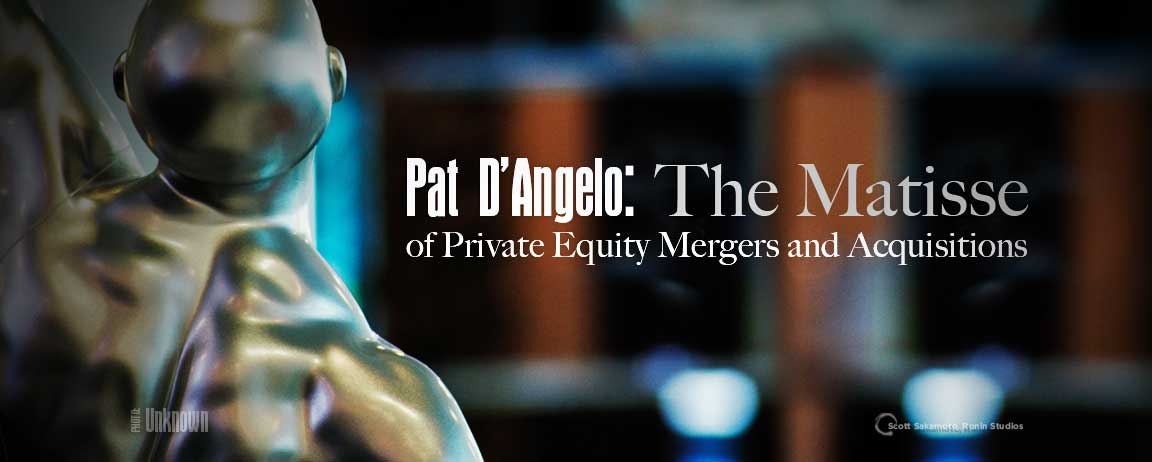 Pat D'Angelo, Mergers and Acquisitions, Morris+D'Angelo, High-end Financial Services