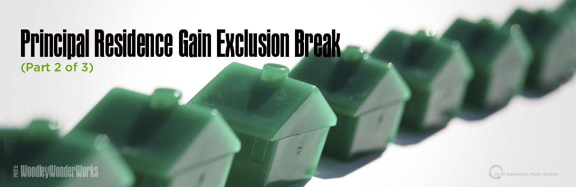 Federal Income Tax Savings, Home Sale Gain, Home Sale Gain Exclusion Break, Income Tax gain Exclusion Break, Income Tax Savings, Principal Residence Gain Exclusion Break, Qualified Individual, Real Estate Taxes, Residential Real Estate, Safe-Harbor Rule, Unrecaptured Section 1250 Gain