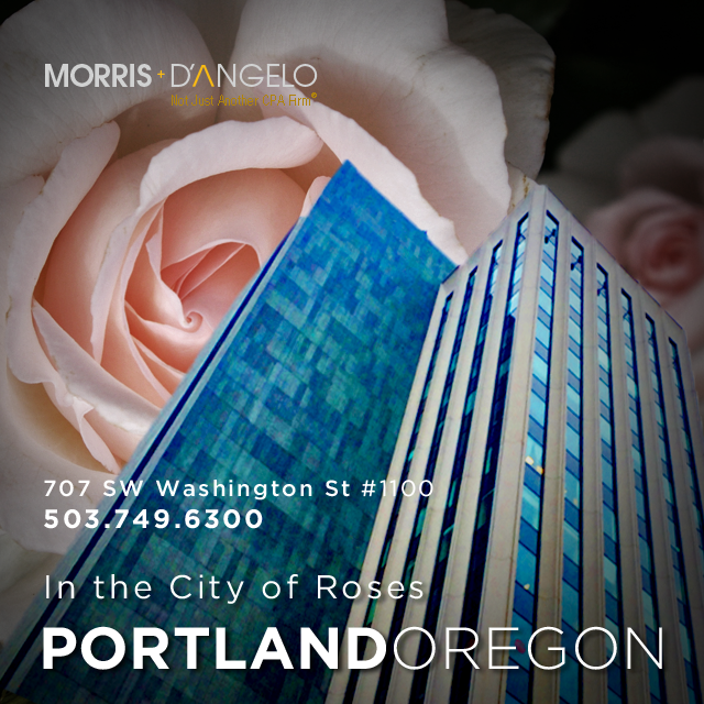 Morris, D'Angelo, Portland Oregon San Jose California