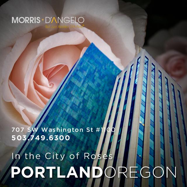 Morris, D'Angelo, Portland Oregon San Jose California