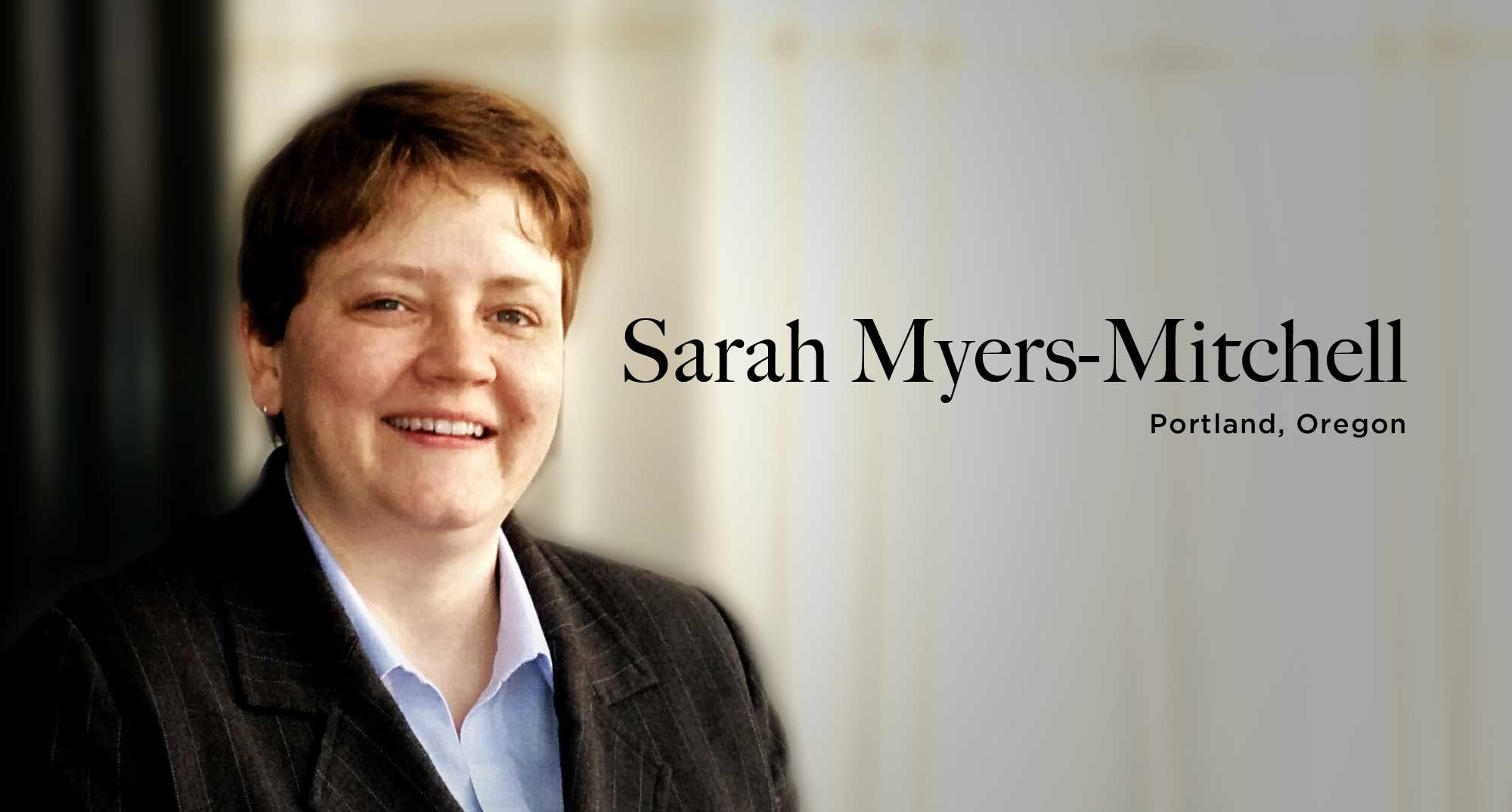 Sarah Myers-Mitchell, Portland Oregon, Morris D'Angelo, CPA, Accountant, Financial Services