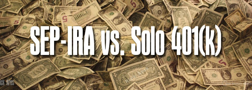 401(k), Employer Contributions, Net Worth, Retirement, Self-Employment, SEP-IRA, Sole Proprietorship, Solo 401(k), Tax Deductions, Tax-Deferred